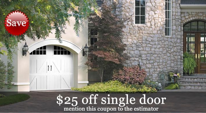 Garage Door Special - 25 Dollars Off
