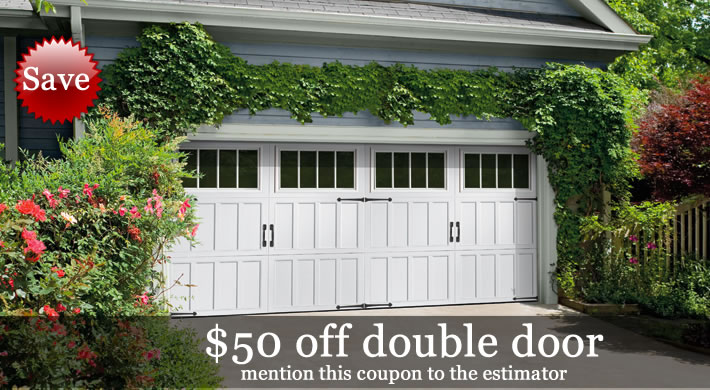 Garage Door 50 Dollars Off